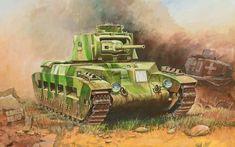World War II: British Infantry Tank Matilda II via @learninghistory