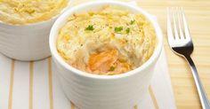 Parmentier de saumon, une recette CuisineAZ