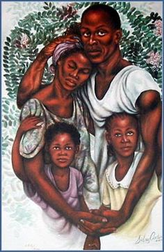A Perfect Blend – Heritages Art Black Love Art, Black Girl Art, Art Girl, Black Art For Sale, African American Artwork, African Artwork, Art Amour, Black Art Pictures, Beautiful Pictures