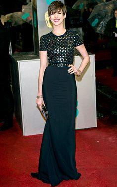 Anne Hathaway's Style Evolution: Feb. 10, 2013