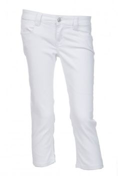 Type 4 Pure White Capri Pants - $49.97