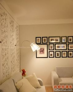 """so, i've had 8zillion black wooden frames that are intended for a picture wall....perhaps i'll *attempt* to hang them """"evenly"""" YIKES!"""