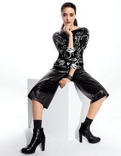 Culotte aus Leder | MADELEINE Mode
