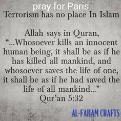 Muslims are not terrorist. Terrorist has no religion