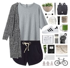 """""""Photograph // 1"""" by nadiasxox ❤ liked on Polyvore featuring Acne Studios, Victoria's Secret, Monki, adidas, Harrods, Falke, H&M, W2 Products, Proenza Schouler and Aesop"""