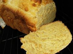 Sweet Potato Bread (Bread Machine) from Food.com:   This is good fresh out of the bread machine or toasted with butter.