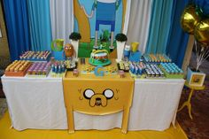 Adventure time Birthday Party Ideas | Photo 4 of 21 | Catch My Party