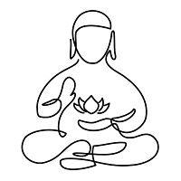 yep - getting that tiny lotus outline. (no Buddha tho - that actually goes against Buddhist teaching - posers) Cute Tattoos, Arm Tattoos, Body Art Tattoos, Sleeve Tattoos, Small Tattoos, Tatoos, Buddha Tattoos, Buddha Tattoo Design, Budist Tattoo