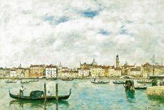 Eugene Boudin - Venice, 1895 at Musée d'Orsay Paris France by mbell1975, via Flickr