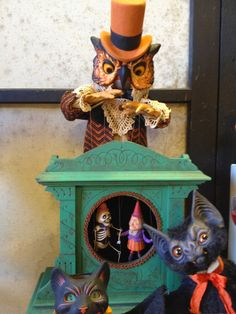 Spun Cotton Ornament Co.: Happy Halloween ~ Ghoultide Gathering 2013 Photos Part 1