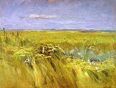 Jan Stanislawski - Grainfield 1902