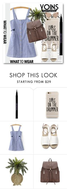 """Yoins !!"" by dianagrigoryan ❤ liked on Polyvore featuring Urban Decay, Linda Farrow, yoins, yoinscollection and loveyoins"