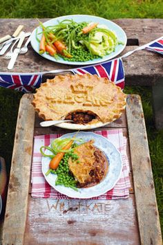 This is a dedicated Royal Kate & Will's Baby Boy Pie.  This is probably the best pie, so good check this recipe out, it will rock your world!!