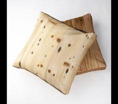 Wood Shop White Pine pillows