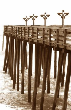 Kitty Hawk Pier, we can see it from my vacation house. I was meant to live on the beach!!