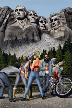 """Mt. Rushmore"" by David Mann"