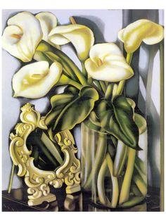 Arums III by Tamara de Lempicka. Premium giclee print from Art.com.