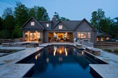 2014 CRBRA Parade of Homes - rustic - Pool - New York - Witt Construction