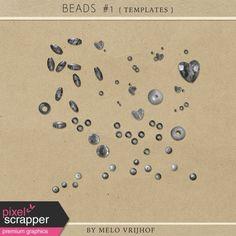 Beads No.1 - Templates