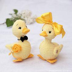 Amigurumi Don Pato Duck Crochet Free Pattern – Free Amigurumi Crochet