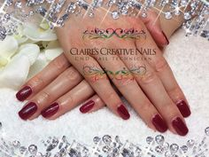 CND Shellac Tinted Love layered with Silver VIP Status.  By Claire's Creative Nails, Northampton. Call or text: 07752 397245 to book your appointment #shellacnailsnorthampton #nailsalonnorthampton #shellacnorthampton #christmasnailsnorthampton