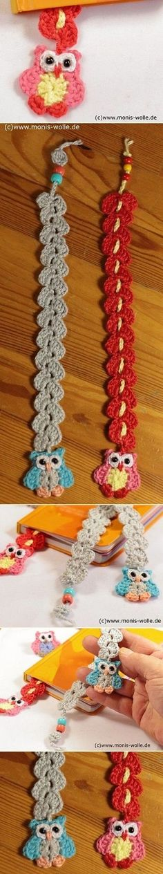 DIY Owl Bookmark Tutorial