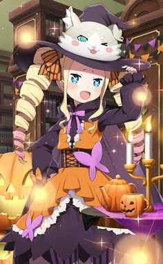 [Media] Beatrice is ready for Halloween