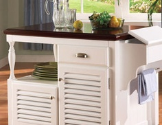 I pinned this from the Clean Kitchen - Tidy & Organize with Bar Carts, Cabinets, Pot Racks & More event at Joss and Main!