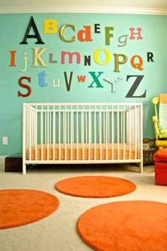 Inspired by a colorful nursery from @Gilda Anderson Anderson Anderson Locicero Therapy