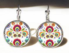 Polish folk Big Earrings, 0495ERS from EgginEgg by DaWanda.com
