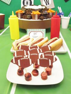 Confessions of a Serial Cheapskate: Let's Call It a Football Party (so I don't get sued)!