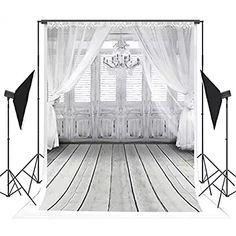 5x7 ft White Wedding Photo Backgrounds Curtain & Chandelier & Wood Floor Wrinkle free Photography Backdrops for Children wd2086 Wedding Photo Background, Portrait Background, Background Vintage, Background For Photography, Backdrop Background, Photography Backgrounds, Free Photography, Photography Backdrops, White Photography