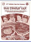 Lot of 3 ORIGINAL 1973 New York Yankees OLD TIMERS' DAY PROGRAMS Old Timers Day, New York Yankees, The Originals