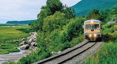 Le nouveau moyen de transport vers Charlevoix en 2015 est le Train Léger #Charlevoix #Quebec #trainleger #voyage  © Lemassif.com