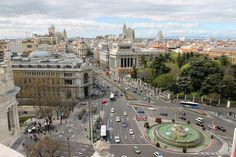 Plaza de Cibeles, Madrid #madrid #turismo #viajes #travel