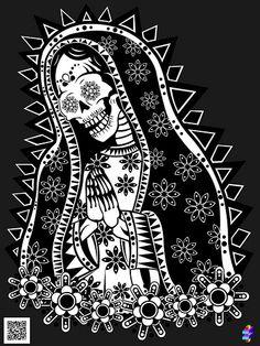 TOLL TROLL  Santa Muerte