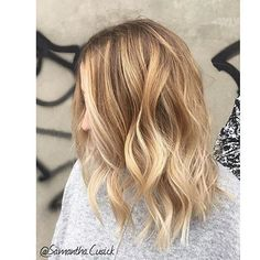 A color flattering on every skin tone. Color by @samantha.cusick #hair #hairenvy #haircolor #hairstyles #bronde #blonde #highlights #balayage #newandnow #inspiration #maneinterest
