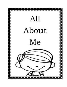 """""""All About Me"""" is a darling 13 page booklet that allows yourstudents to draw pictures and complete sentences aboutthemselves. This is one project that will be repeated for years to come.."""