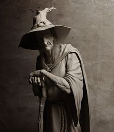 Old crone.