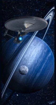 Leaving orbit Star Trek Posters, Star Trek Models, Uss Enterprise Ncc 1701, Space Battles, Sci Fi Series, William Shatner, Star Trek Ships, Star Trek Universe, Interstellar