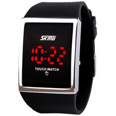 2016 new fashion waterproof silicone jelly LED touch screen electronic digital watches Unisex Students Casual Watches 0988 Nail That Deal http://nailthatdeal.com/products/2016-new-fashion-waterproof-silicone-jelly-led-touch-screen-electronic-digital-watch