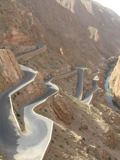 Dades valley in Morocco. Beautiful place, especially this mountain road. Morocco is a great country to travel with your children. I was interviewed recently about family travel by Jenna Francisco of This is My Happiness blog.