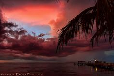 The Beaches of Fort Myers – red Sunset