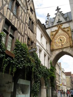Tour de l'horloge Auxerre (Yonne), Borgogne