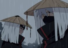 Itachi and Kakashi
