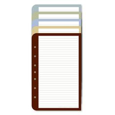 """Classic Color Wide Lined Pages (FranklinCovey) (""""Enjoy more space between the lines when color coding your notes for instant reference. Add a new dimension to organizing your information. Includes ten sheets each of five colors - Blue, Green, Aqua, Tan and Maroon. Designed to match color lined pages and color tabs, as well as Simplicity Planner Pages. Package of 50."""")"""