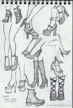 Faces with Graphite Pencils Dibujos de zapatos a lpiz . Pencil drawing of shoes.Dibujos de zapatos a lpiz . Pencil drawing of shoes. Pencil Art Drawings, Art Drawings Sketches, Cute Drawings, Shoe Sketches, Hair Drawings, Drawing Techniques, Drawing Tips, Drawing Reference, Drawing Ideas