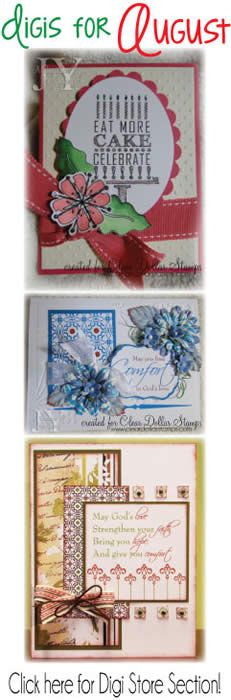 Clear Acryclic Stamps - Scrap Booking