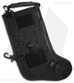 e9452fe5b6a0 Tactical Christmas Stocking Deluxe Molle Elite Version --now available in  black at Blade HQ