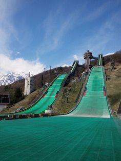 Happo Ski Jump www.bluebirdhakuba.com